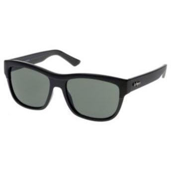 Le Specs Al Capone black/w green mono lens