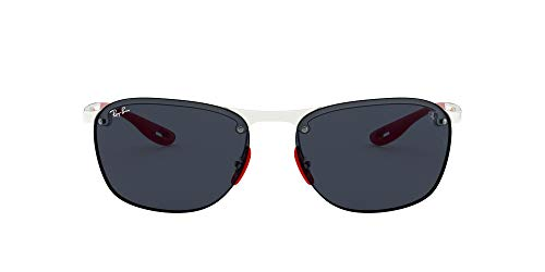Ray-Ban Junior Herren 0RB4302M F62587 62 Sonnenbrille, Transparent (Transparente/Dark Grey)