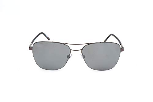 MONT BLANC MB696S Mont Blanc Sonnenbrille MB696S Aviator Sonnenbrille 60, Silber