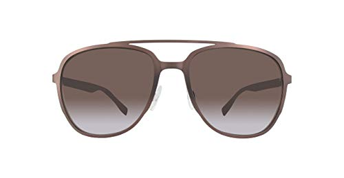 BOSS ORANGE BO0301S-BU0HA-56 Boss Orange Sonnenbrille BO0301S-BU0HA-56 Aviator Sonnenbrille 56, Braun