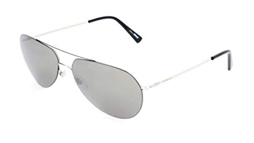 MONT BLANC MB595S 16A-60-15-145 Mont Blanc Sunglasses Mb595S 16A-60-15-145 Aviator Sonnenbrille 60, Silber
