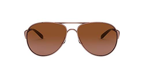 Oakley Damen Caveat Aviator Sonnenbrille, ROSE GOLD/VR50 BROWN GRADIENT