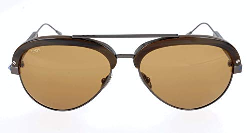 TOD'S TO0211 TOD'S SONNENBRILLE TO0211 Aviator Sonnenbrille 56, Mehrfarbig