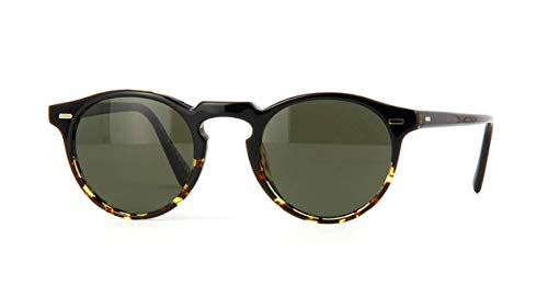 Oliver Peoples GREGORY PECK SUN OV 5217/S BLACK DARK SHADED TORTOISE/G- 47/23/150 Herren Sonnenbrillen