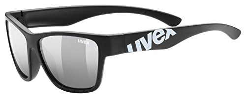 uvex Unisex Jugend, sportstyle 508 Sonnenbrille, black mat, one size