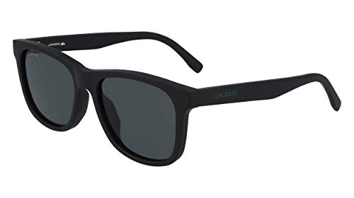 LACOSTE EYEWEAR unisex-child BLACK Sunglasses, 5116