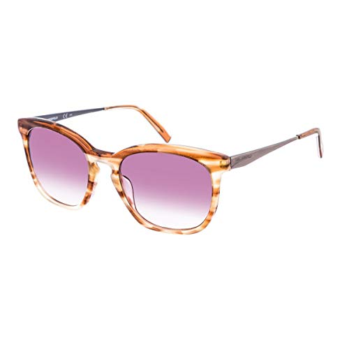 Karl Lagerfeld Damen KL896S 131 54 Sonnenbrille, Rot (Striped Red)