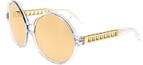 Linda Farrow Sonnenbrillen 451 CLEAR YELLOW GOLD Clear Yellow Gold/Gold Mirror 60/17/140 Damen
