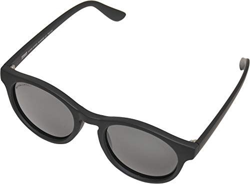 Urban Classics Unisex Sunglasses Sunrise UC Sonnenbrille, Black/Grey, one Size