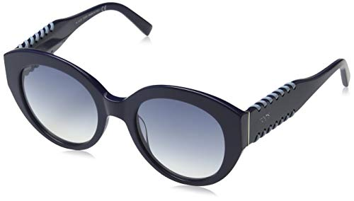 TOD'S TO0194 TOD'S SONNENBRILLE TO0194 Cateye Sonnenbrille 52, Blau