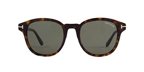 Tom Ford JAMESON FT 0752 DARK HAVANA/GREEN 52/21/145 Herren Sonnenbrillen