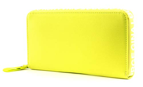 George Gina & Lucy Nylon Roots Wallets Big Cash Yellow