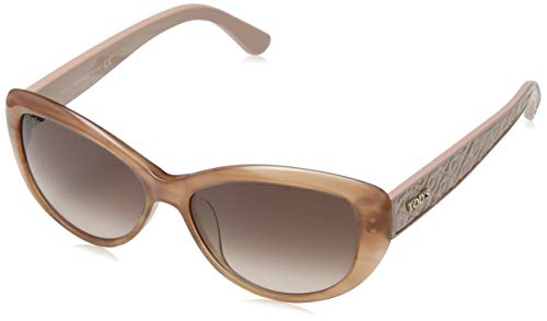 TOD'S Tod'S Sonnenbrille TO9112 Cateye Sonnenbrille 56, Mehrfarbig