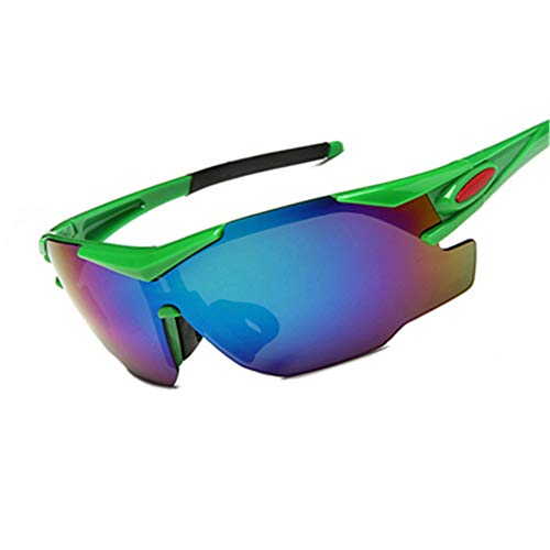 Bbye Männer Frauen Rad Brillen Sonnenbrillen Mountain Road Bike Rad Brille Outdoor Sport Winddicht Grün