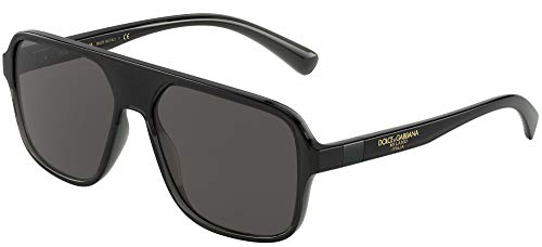 Sonnenbrillen Dolce & Gabbana STEP INJECTION DG 6134 BLACK/GREY 57/16/145 Herren