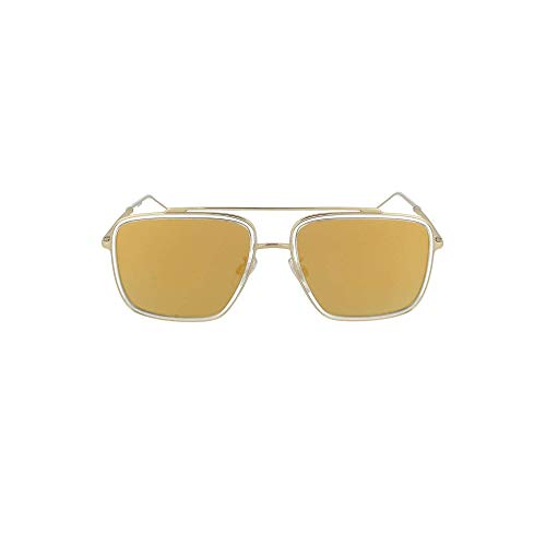 Dolce e Gabbana Luxury Fashion Herren 2220SOLE4887P Gold Acetat Sonnenbrille | Jahreszeit Permanent