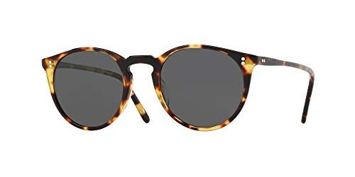 Oliver Peoples Sonnenbrillen O'MALLEY SUN OV 5183S VINTAGE DARK TORTOISE BLACK/MIDNIGHT Herrenbrillen