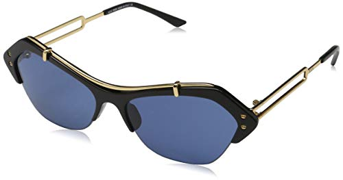 TOD'S TO0166 TOD'S SONNENBRILLE TO0166 Oval Sonnenbrille 56, Schwarz