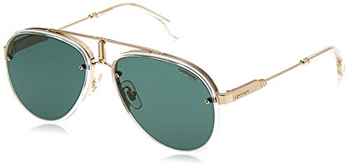 Carrera Unisex Glory Sonnenbrille, Gold Crystal/Green, 58