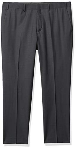 DKNY Herren Suit Separate (Blazer Pant) Anzughose, Charcoal, 42W / 32L