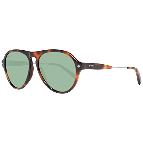 TOD'S TO0232 5653N Tods Sonnenbrille TO0232 53N Aviator Sonnenbrille 56, Braun