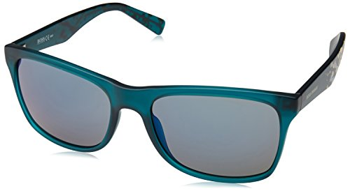 Hugo Boss Hugo Orange Sun BO 0211/S F24/23 -56 -18 -140 Hugo Orange Rechteckig Sonnenbrille 56, Black
