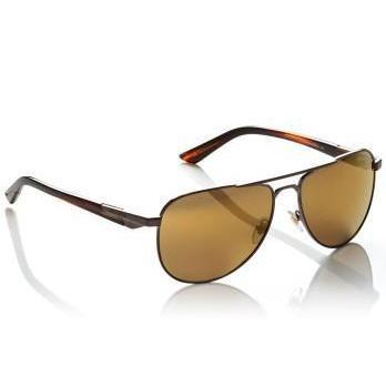 Arnette One Time Sunglasses brushed brown with havana temple/brown mirror bronze