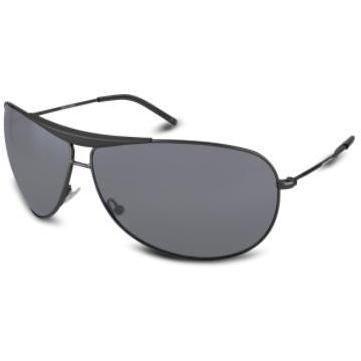 Giorgio Armani Sonnenbrille mit Metallrahmen und Steg im Pilotenstyle