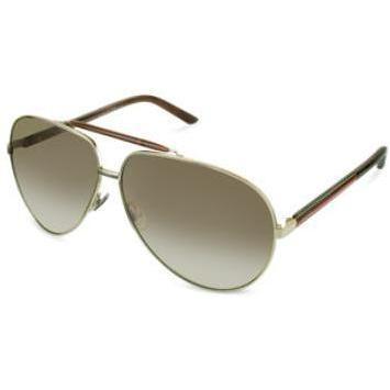 Gucci Sonnenbrille im Pilotenstyle mit Metallgehäuse