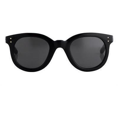 Linda Farrow - Sonnenbrille Dünn Umrandetes Acetate Oval
