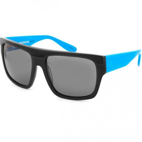 Sonnenbrille Sabre Madness gloss/matt black with teal & white arms